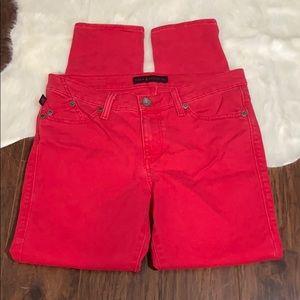 Rock&Republic Red Skinny Jeans